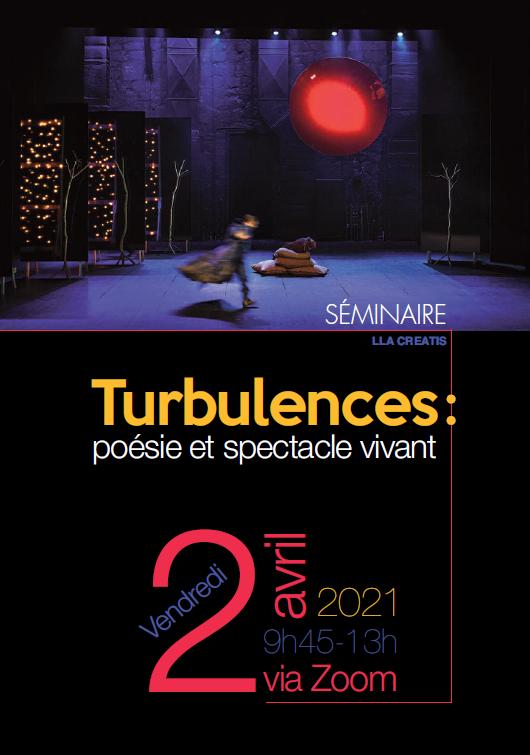 Séminaire Turbulences - 2 avril 2021