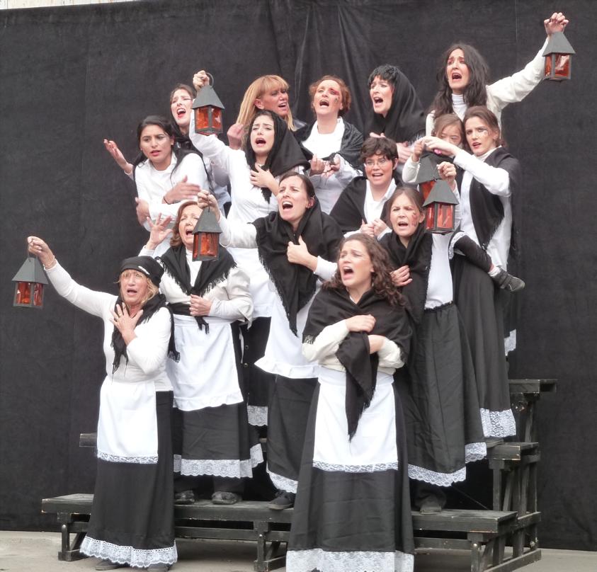 Los indios estaban cabreros, par le groupe de théâtre communautaire argentin El épico de Floresta Photographie : Lucie Elgoyhen
