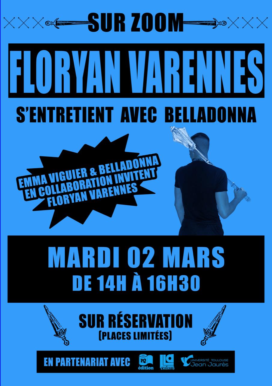 Rencontre zoomesque Floryan Varennes - LLA CREATIS